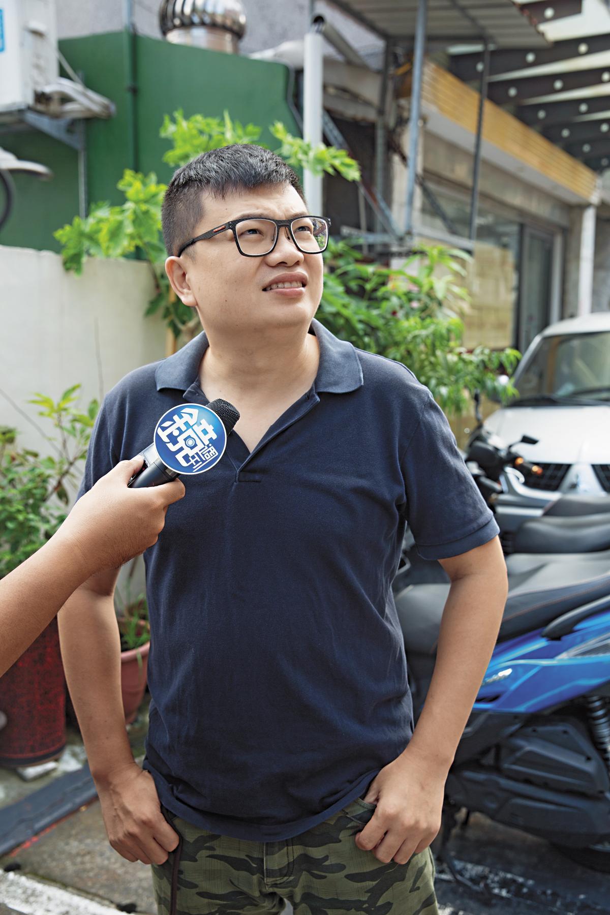 36歲鍾先生表示,北市府要有作為,外觀看起來是蠻好看,但知道材質是塑膠當然會擔心,希望建物外牆以防火優先,市府儘速改善外牆材質。
