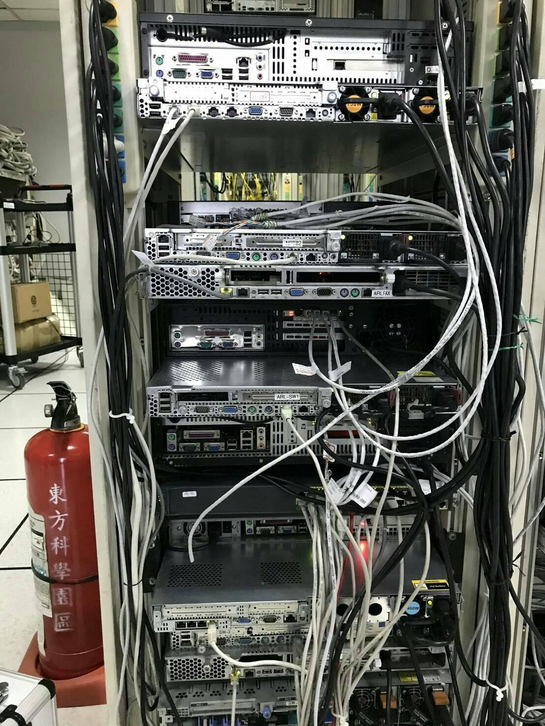 地下期指公司於美國承租伺服器架設地下期貨交易網站躲避追緝。(警方提供)