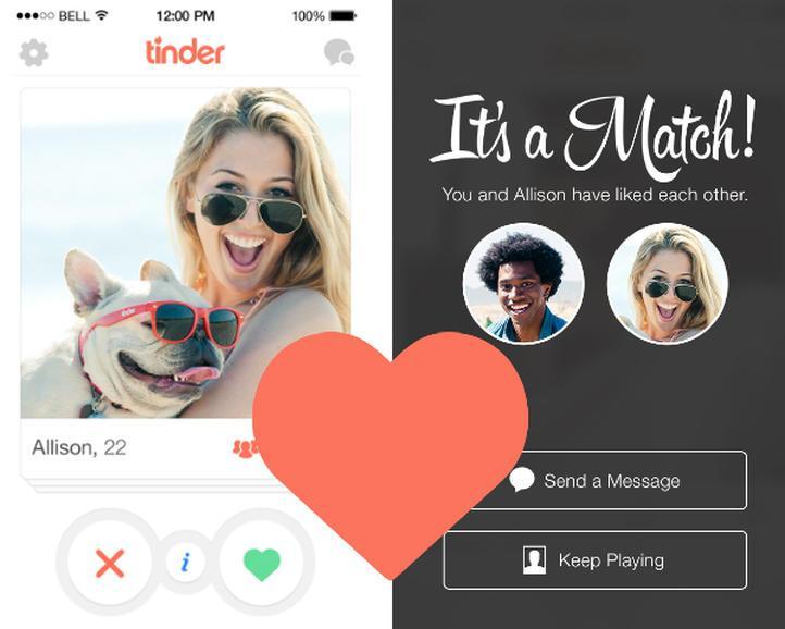 Tinder是目前最夯的交友app,全球共有5千萬用戶。(翻攝appentive)