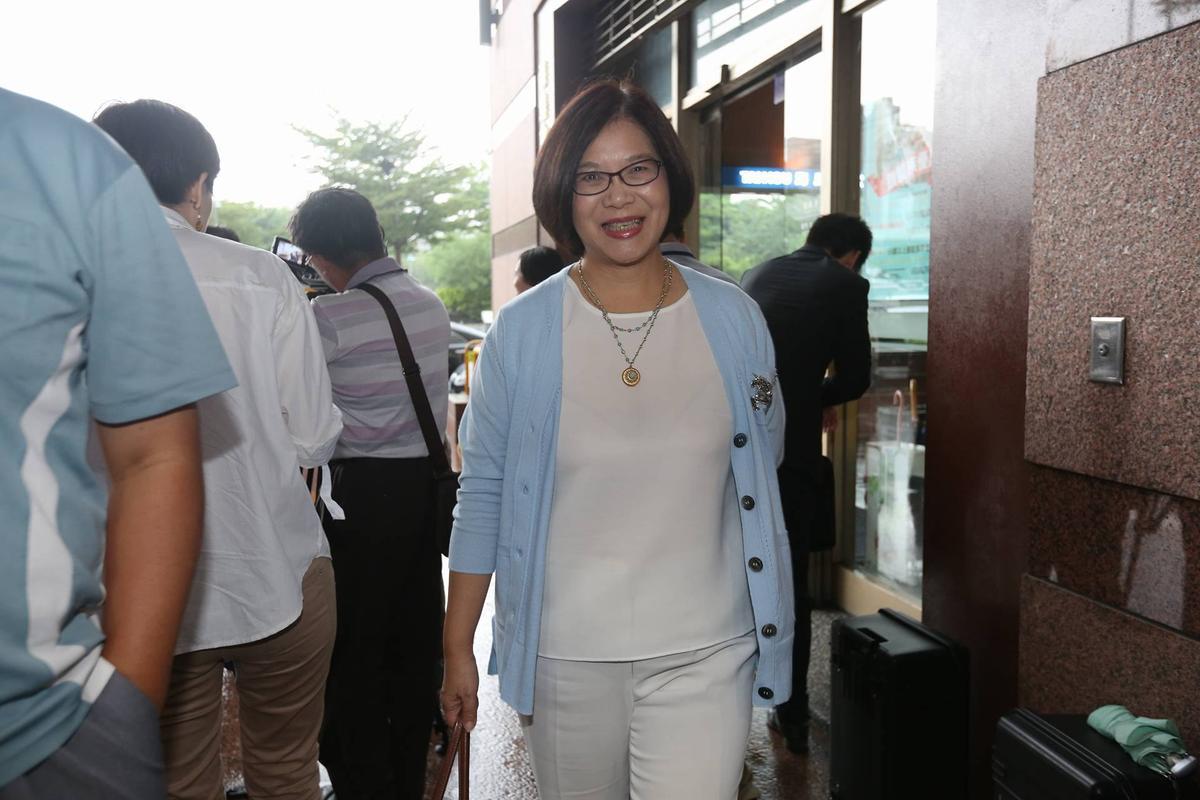 有意爭取民進黨高雄市長提名的立委管碧玲。