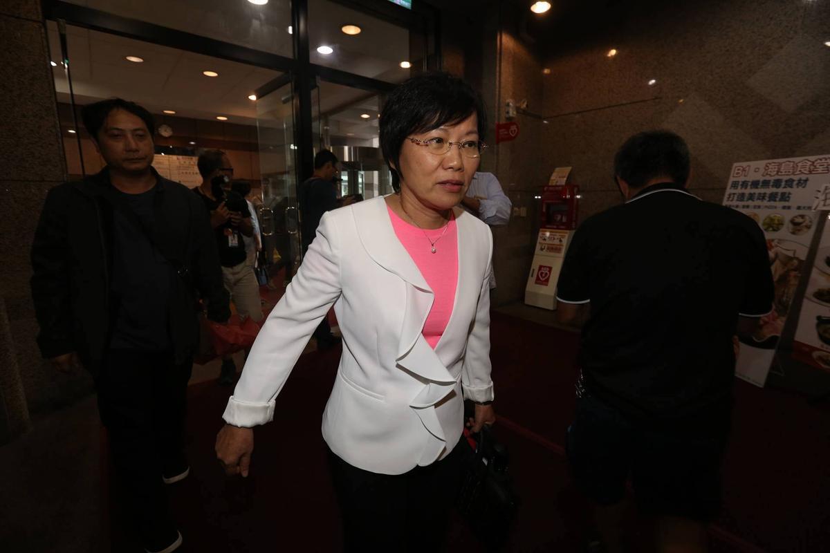 有意爭取民進黨高雄市長提名的立委劉世芳。