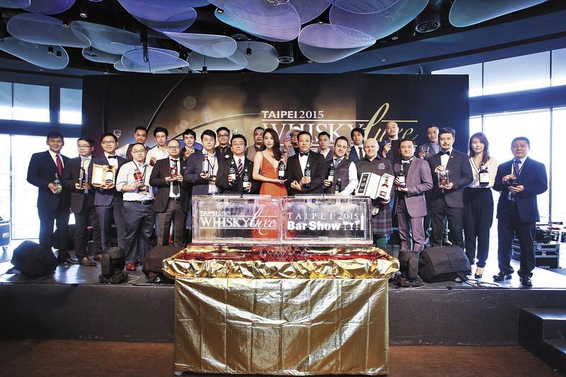 即便台灣酒展眾多,但走頂級精緻路線的還是屈指可數。圖為Taipei 2015 Whisky Luxe & Bar Show。