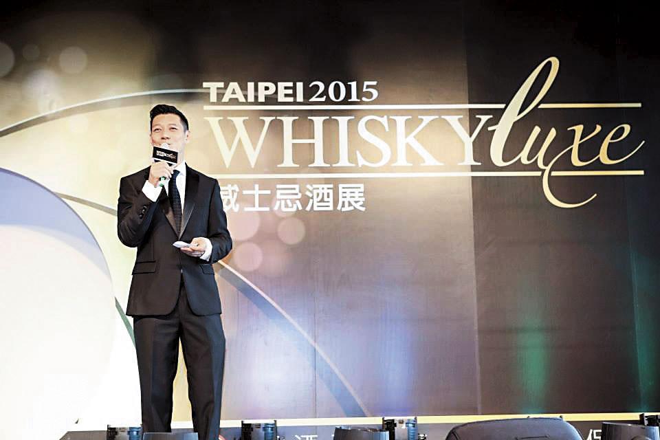 過去的Whisky Luxe開幕,還曾找來也很熱愛威士忌的聶雲主持。