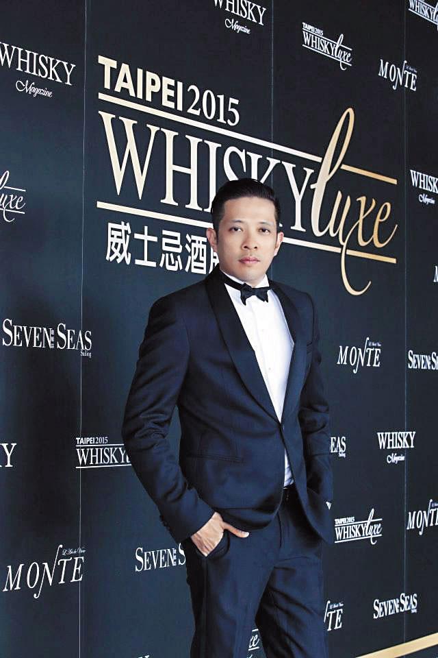 Whisky Luxe主辦人黃培峻,過去曾成功辦過Whisky Live,籌辦酒展經驗豐富。