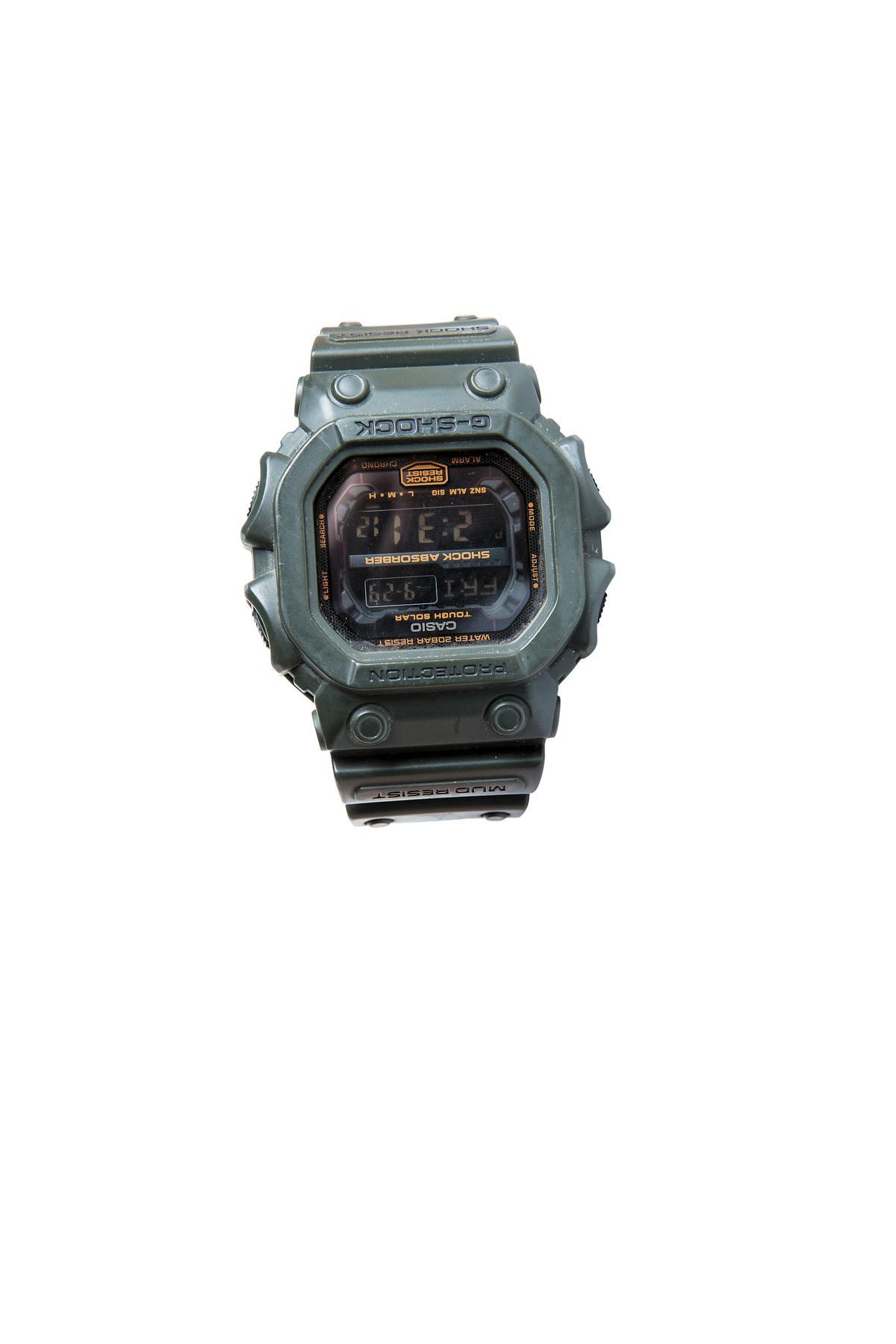 CASIO G-SHOCK手錶。約NT$4,000