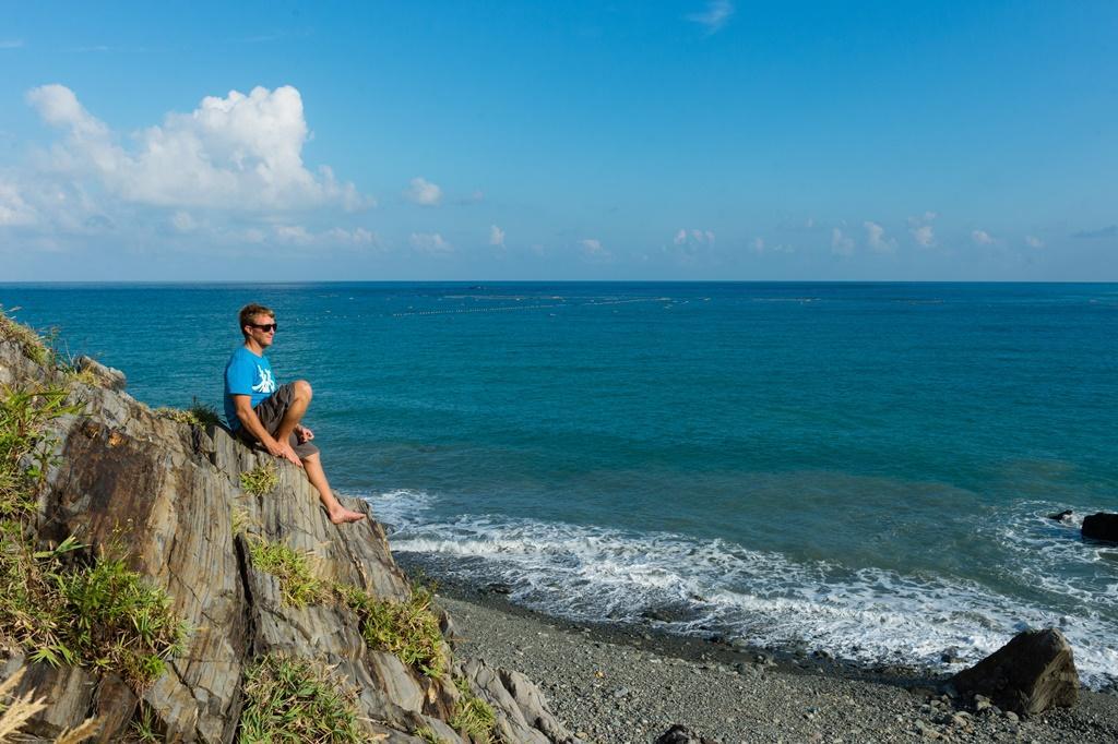 有空的時候,Neil也會跑去東澳的海邊。