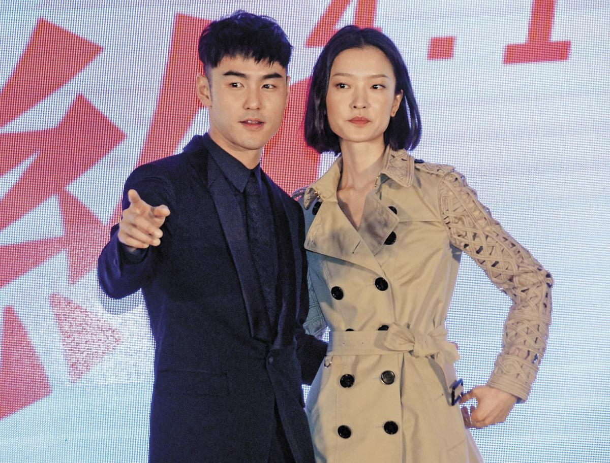 阮經天(左)之前才被爆出跟中國超模杜鵑(右)熱戀,雖然他馬上否認「假的」,但舊愛許瑋甯已交了新男友。(東方IC)