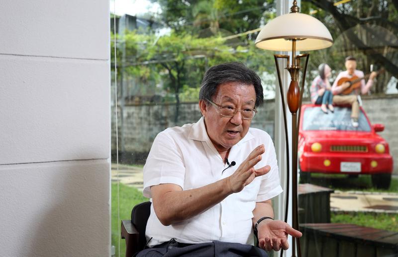 翁明顯計畫未來要結合餐飲、影視,準備打造屬於台灣的環球片廠。