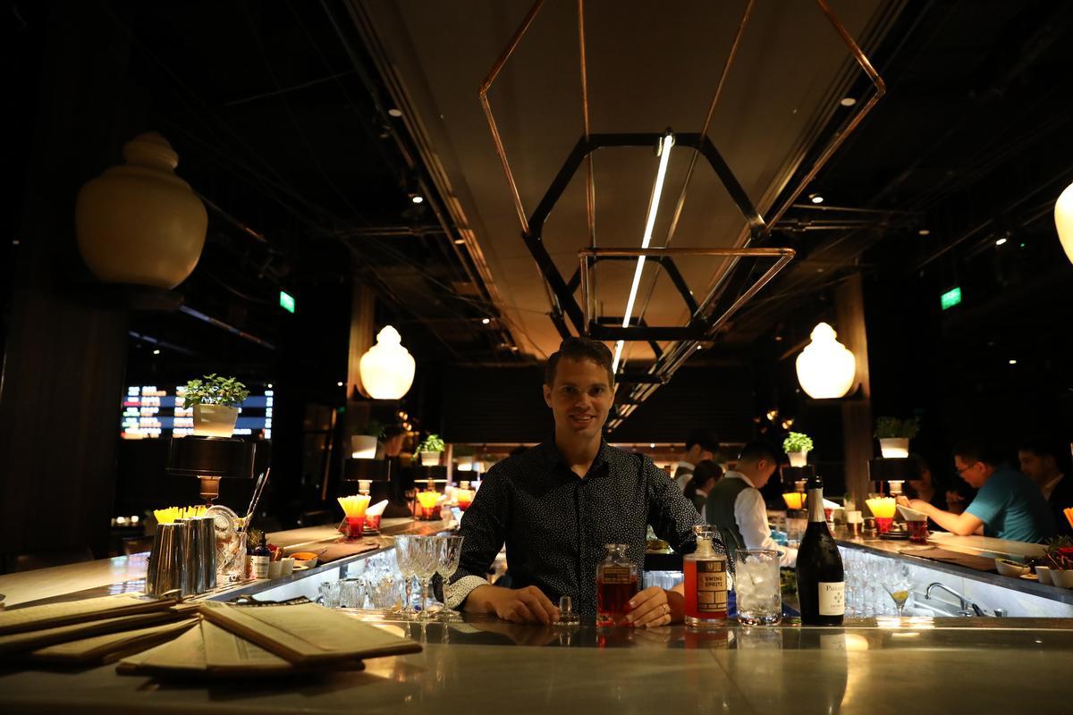 被暱稱為Lenny的營運總監Leendert Vanpel,也是一位出色的調酒師。