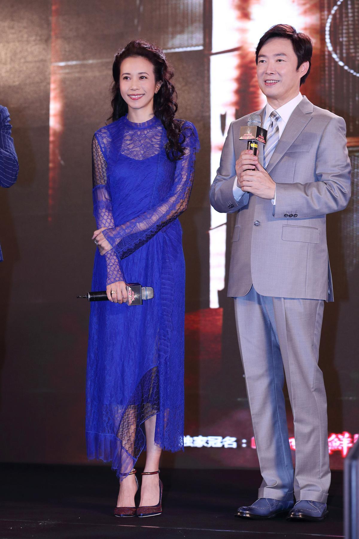 莫文蔚與費玉清再度於大陸歌唱真人秀節目《天籟之戰》第二季接受素人挑戰。(索尼音樂提供)