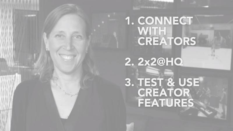 在科技、廣告業掀起狂風巨浪的 Susan Wojcicki ,這回當起 YouTuber 來了。(翻攝自影片)
