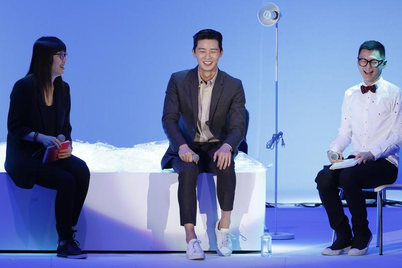 朴敘俊在台舉辦首次見面會,與粉絲分享平常難見的一面。