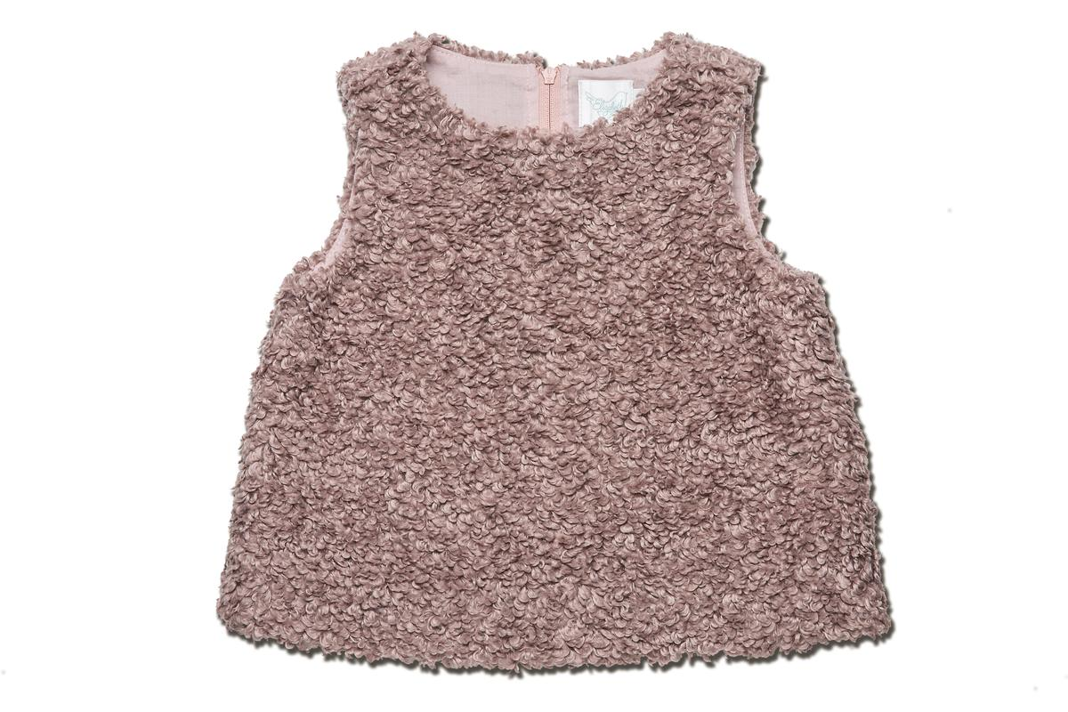 Elizabeth毛茸茸短上衣。NT$2,600。