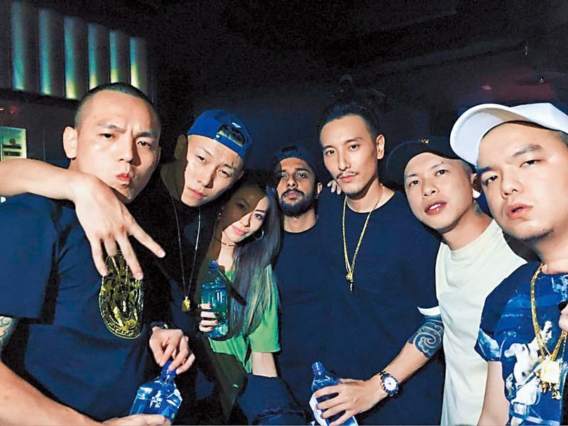 玖壹壹是台灣近年崛起的饒舌夯團,擁有大批粉絲追隨,私下他們也結交不少藝人好友。(翻攝自玖壹壹臉書)