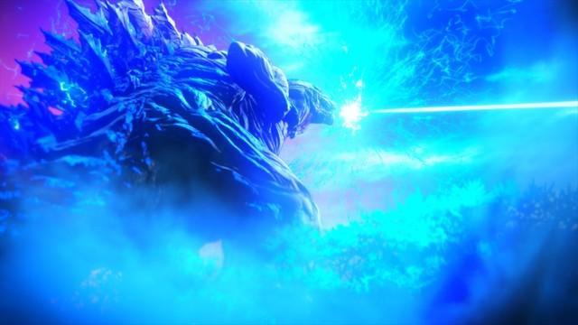 《GODZILLA 怪獸惑星》中的超大型哥吉拉。