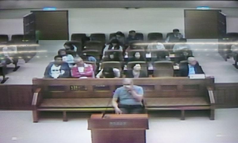 蘇炳坤再審案最高法院開庭,他當庭激動落淚泣訴賠再多錢都沒用。