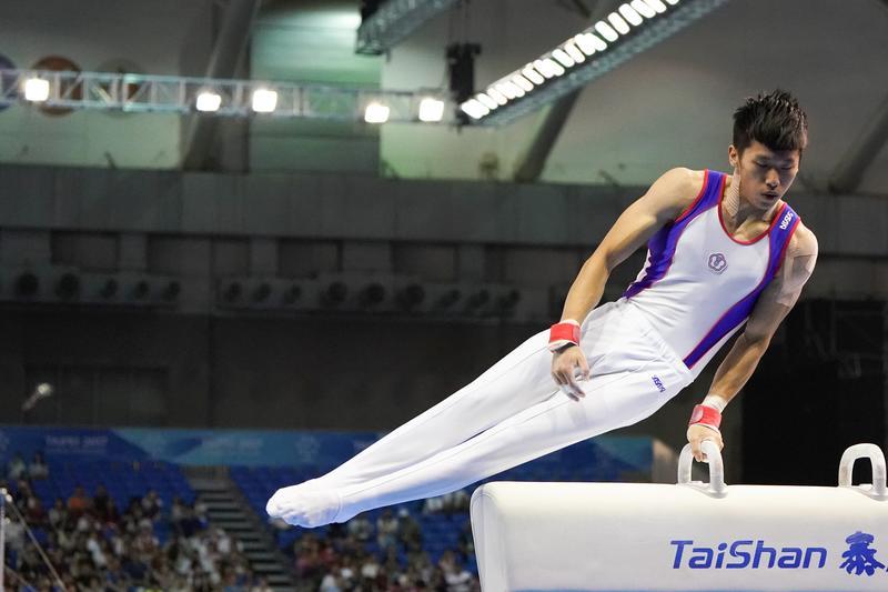 李智凱說:「比賽時不會注意任何事,那時刻只有自己的身體而已。」