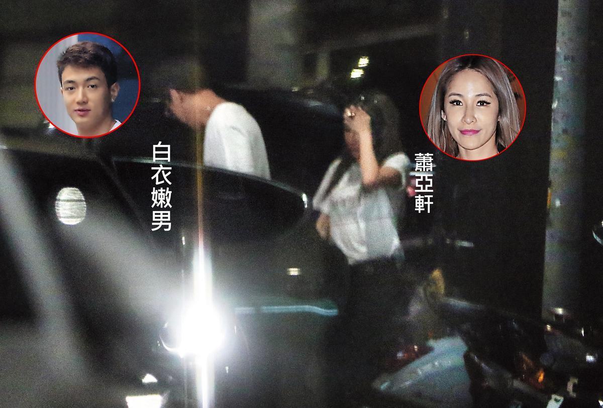 蕭亞軒日前被本刊拍到和黃皓有過夜情。