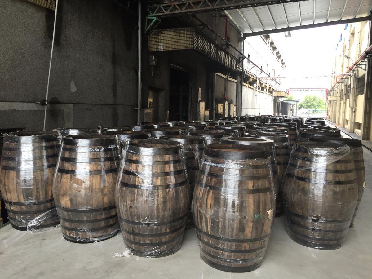 南投酒廠從西班牙買進不少雪莉桶,雄心釀出世界級水準的威士忌。