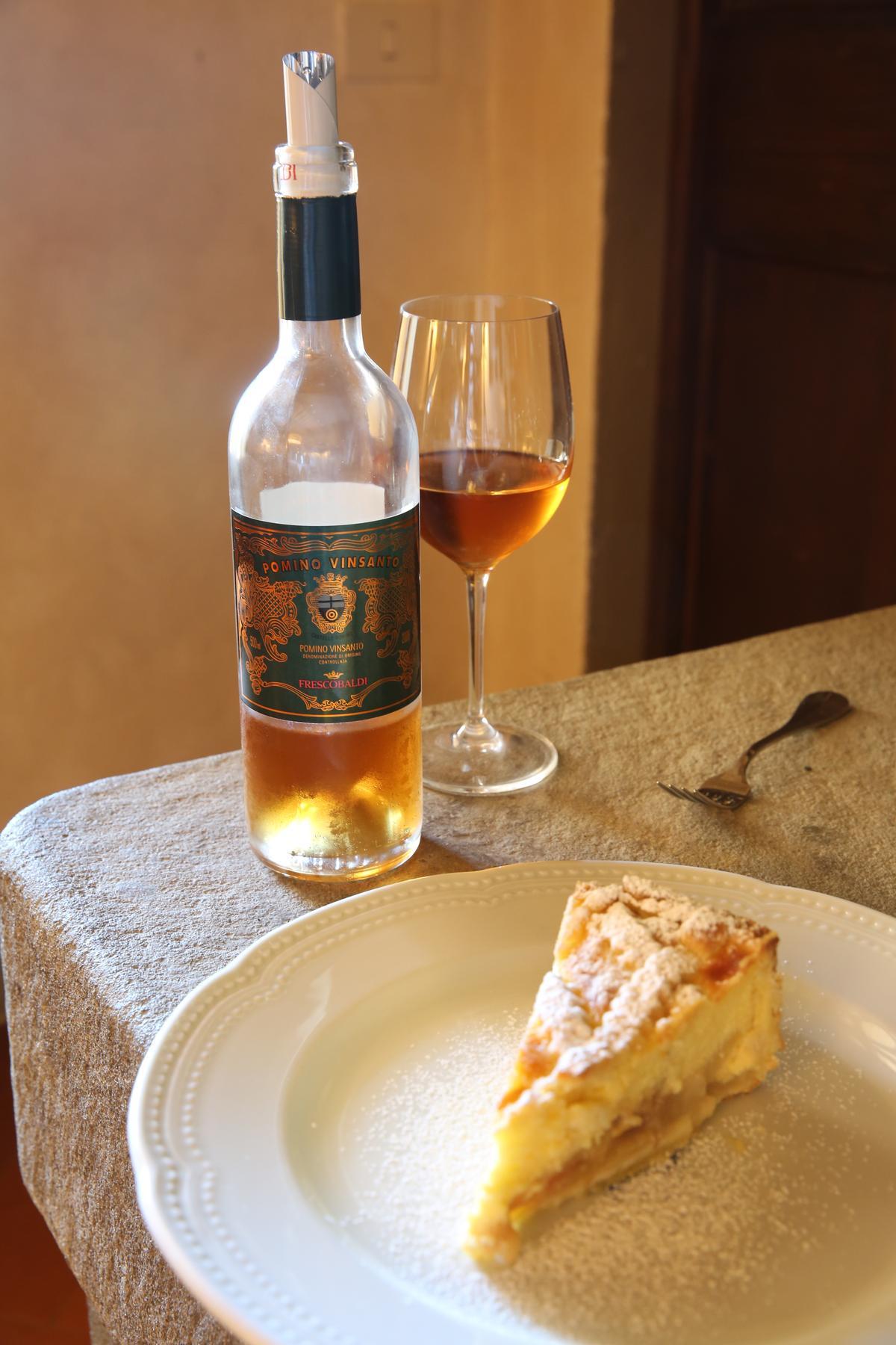 香甜的「Pomino Vinsanto」非常適合搭配鴨肝、甜點及堅果。