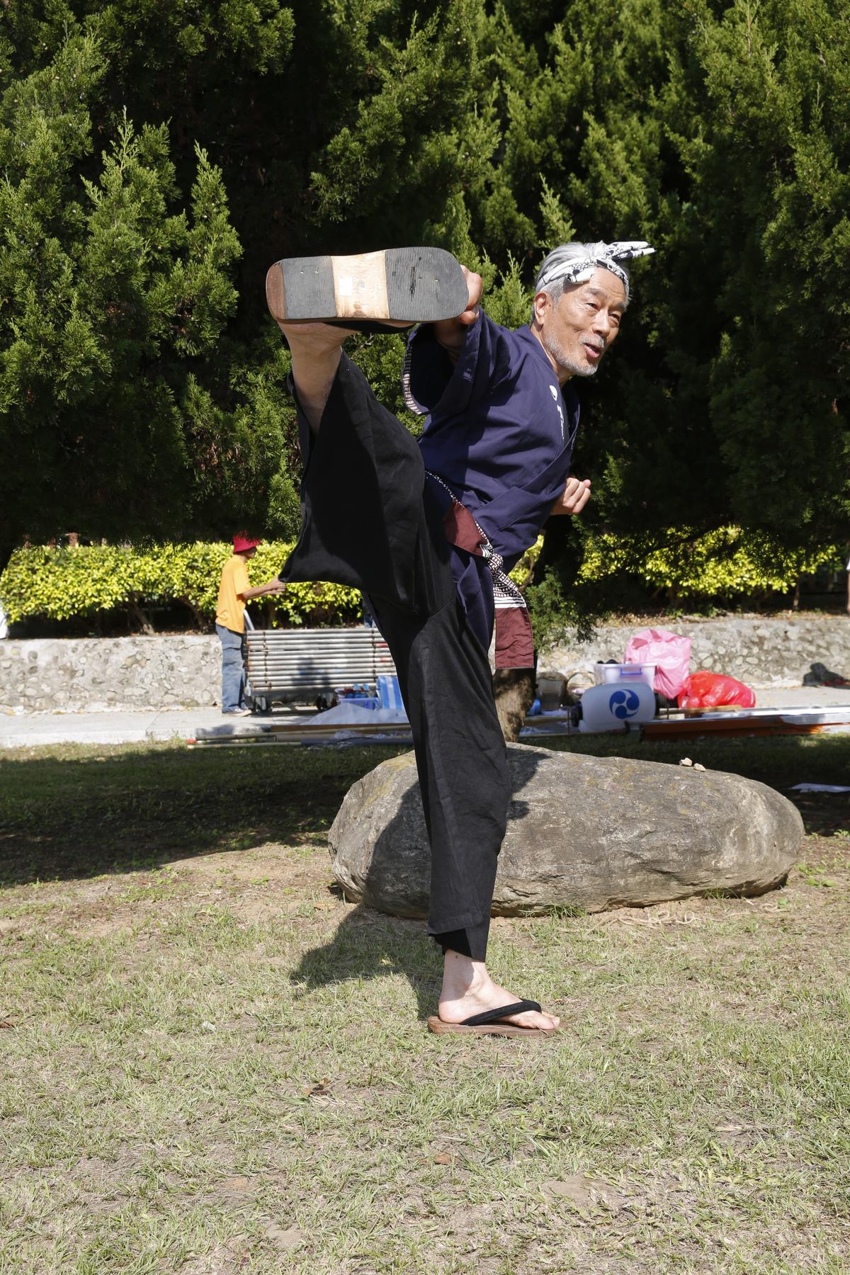 早期港片常見到的日本功夫明星倉田保昭在淡出港片大銀幕多年後復出,港片迷看到他勢必有驚喜。