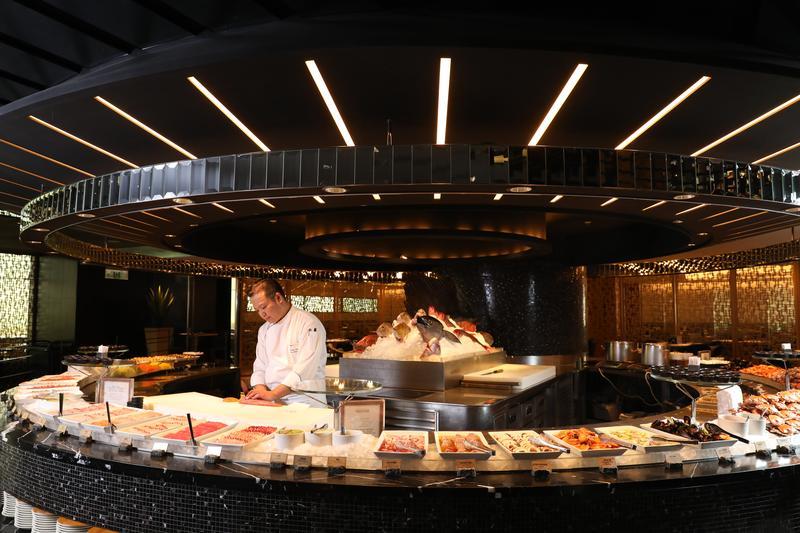 「栢麗廳」現流鮮魚品質可與日本料理的鮮度PK,來這裡專攻生魚片最聰明。