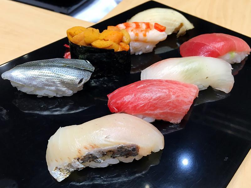 10月27日至29日能在新光三越A11館,品嘗到日本米其林一星餐廳「銀座 久兵衛」的握壽司料理。