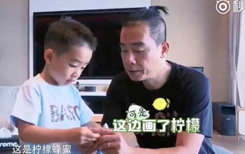 陳小春的兒子Jasper因《爸爸去哪兒5》爆紅,但陳小春表明不會讓兒子客串電影。(翻攝網路)