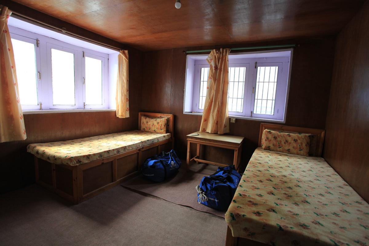 入住的房間,以二人房為主。