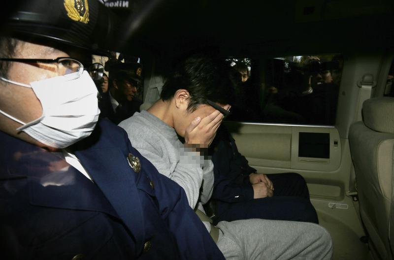2017年11月1日,27歲男子白石隆浩自八王子的高尾派出所送至檢方進行偵訊,白石供稱為了奪取錢財,過去兩個多月來殺害了九名受害人。(東方IC)
