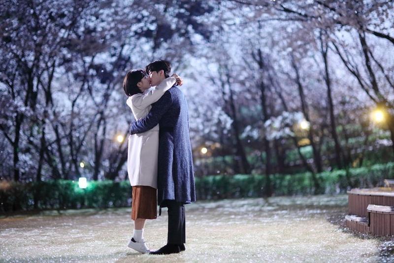李鍾碩(右)、秀智主演的《當你沉睡時》,目前由愛奇藝台灣站獨家播出中。(SBS提供)