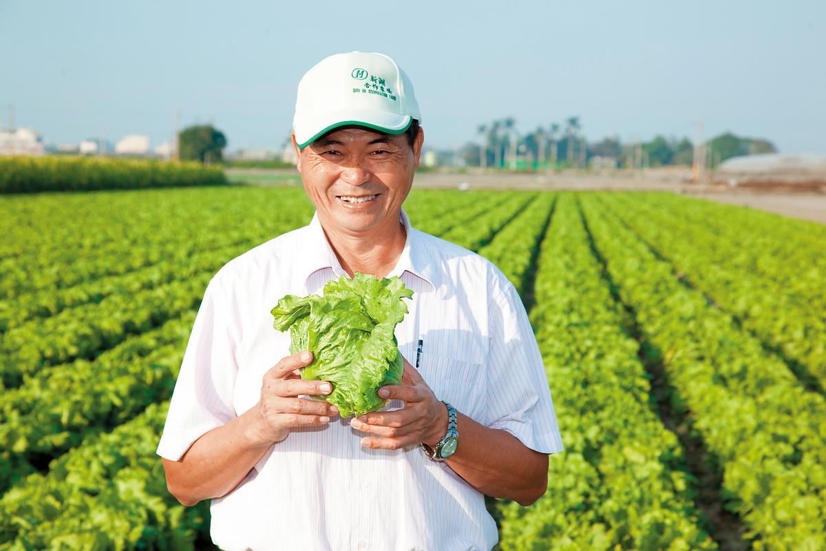 與麥當勞合作邁進第22年的新湖合作農場主席陳清山。