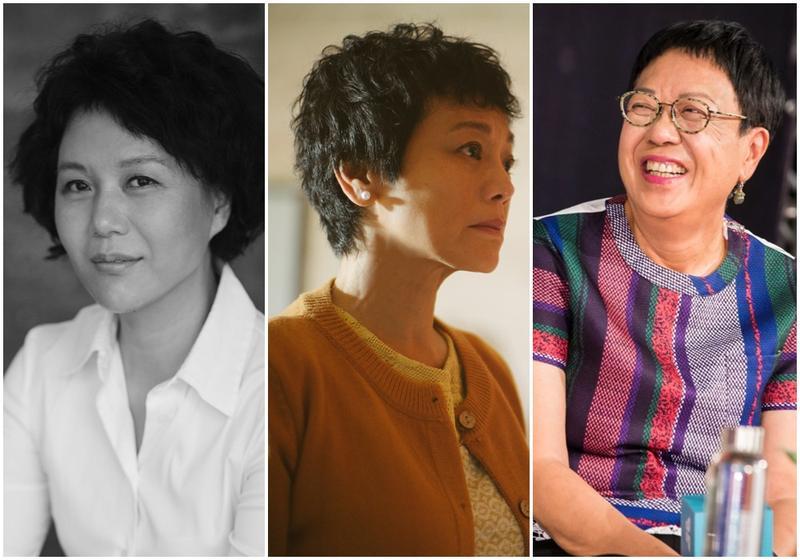 第54屆金馬獎最佳導演入圍者有文晏(左起)、張艾嘉、許鞍華三位女導演。
