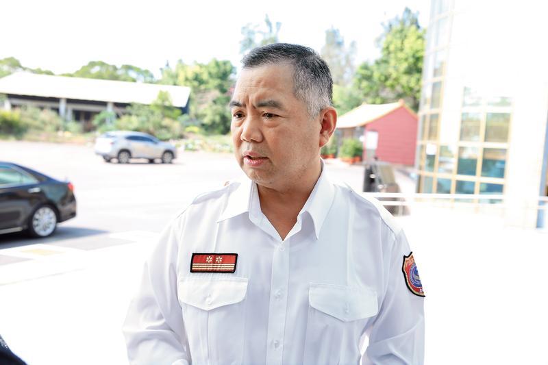 新竹縣消防局長孫福佑承諾以因公殉職從優處理,承諾卻在消防署的公文中跳票。