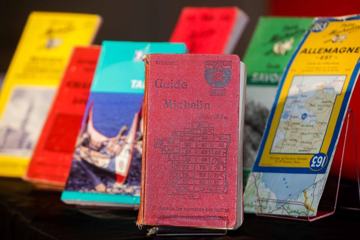 米其林指南發行超過一世紀,總發行量超過150萬本,是全球發行歷史最久的觀光旅遊與美食餐飲評鑑指南。(圖:台灣米其林提供)