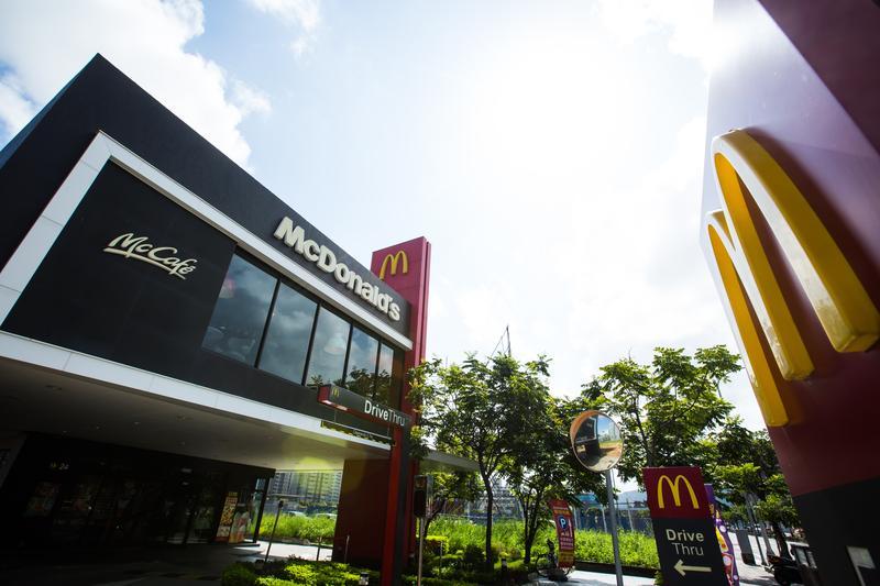 美國第一家麥當勞成立至今已超過60年,圖為台灣內湖麥當勞門市。