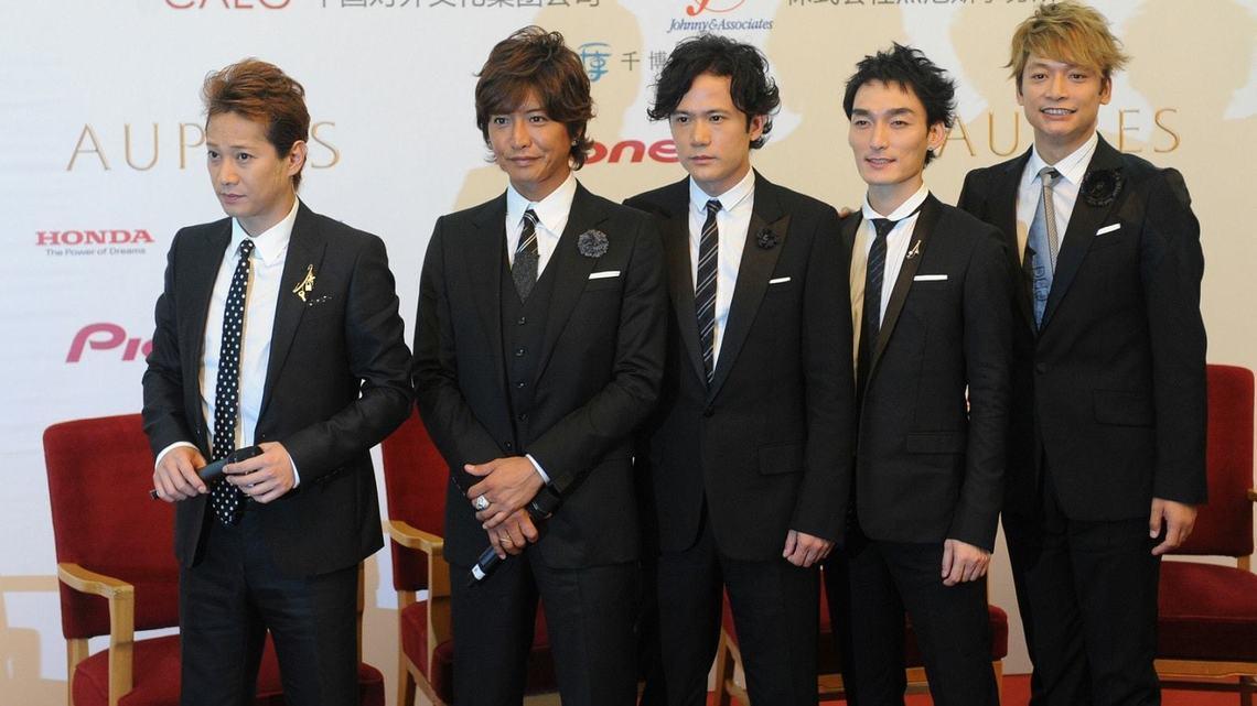 許多日本人還在期待看到解散的SMAP再度同台。(翻攝東洋經濟online網站)