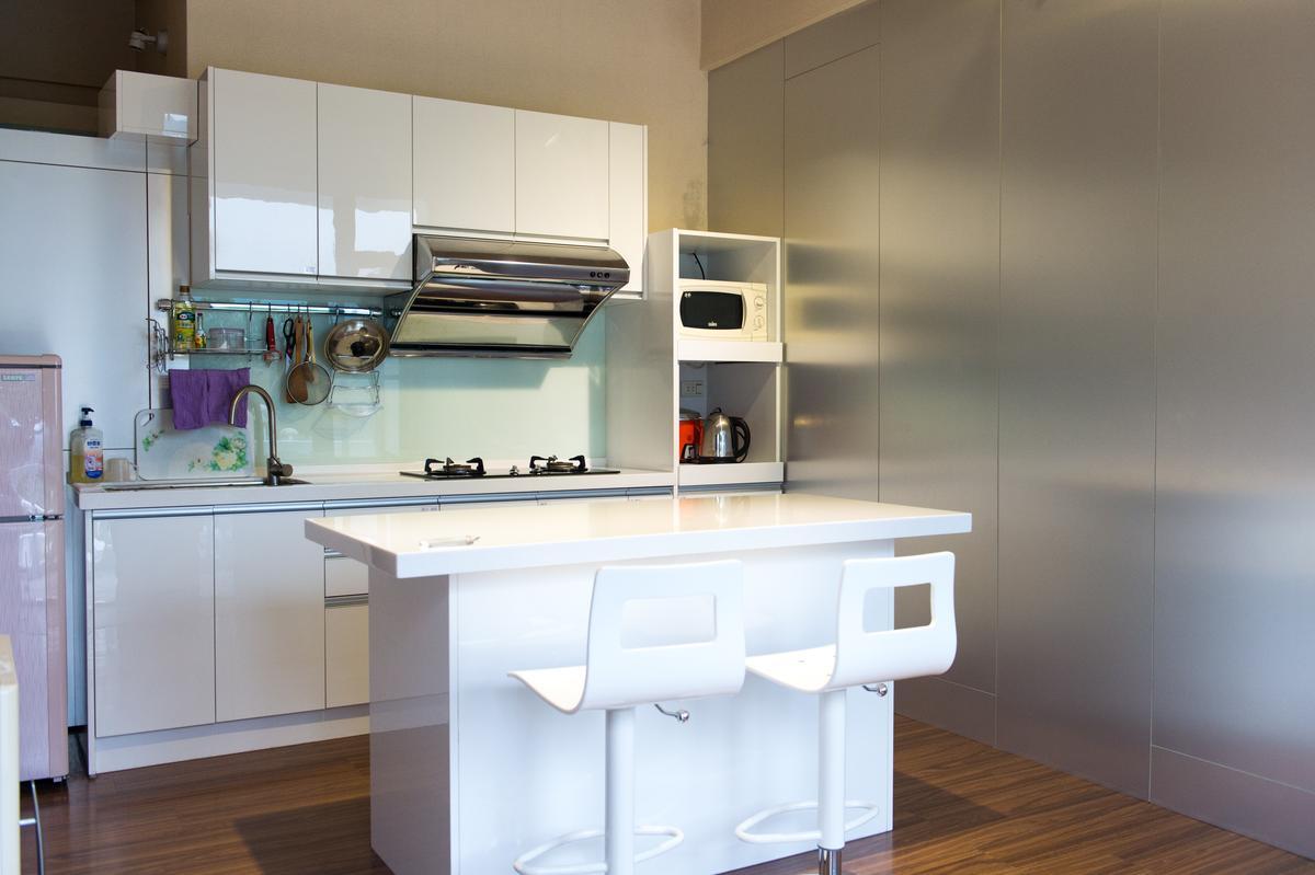 專為Long Stay客人打造的廚房空間。