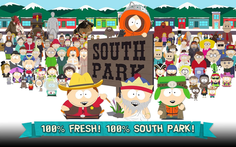 《南方公園:手機破壞者》手遊於 11 月 9 日正式發行。(圖取自遊戲商店)