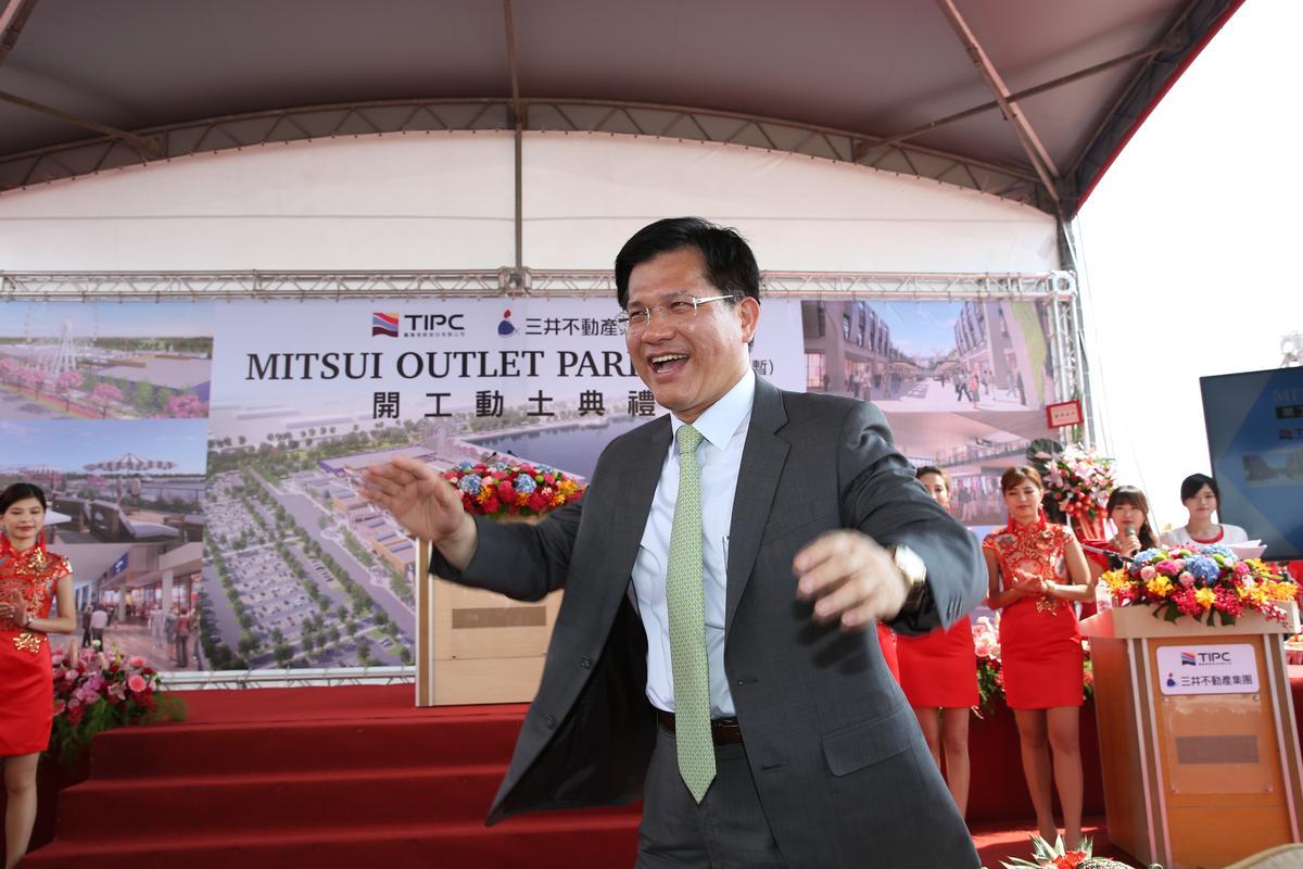 台中市長林佳龍民調滿意度不錯,但台中市傳統政治板塊都是藍大於綠。