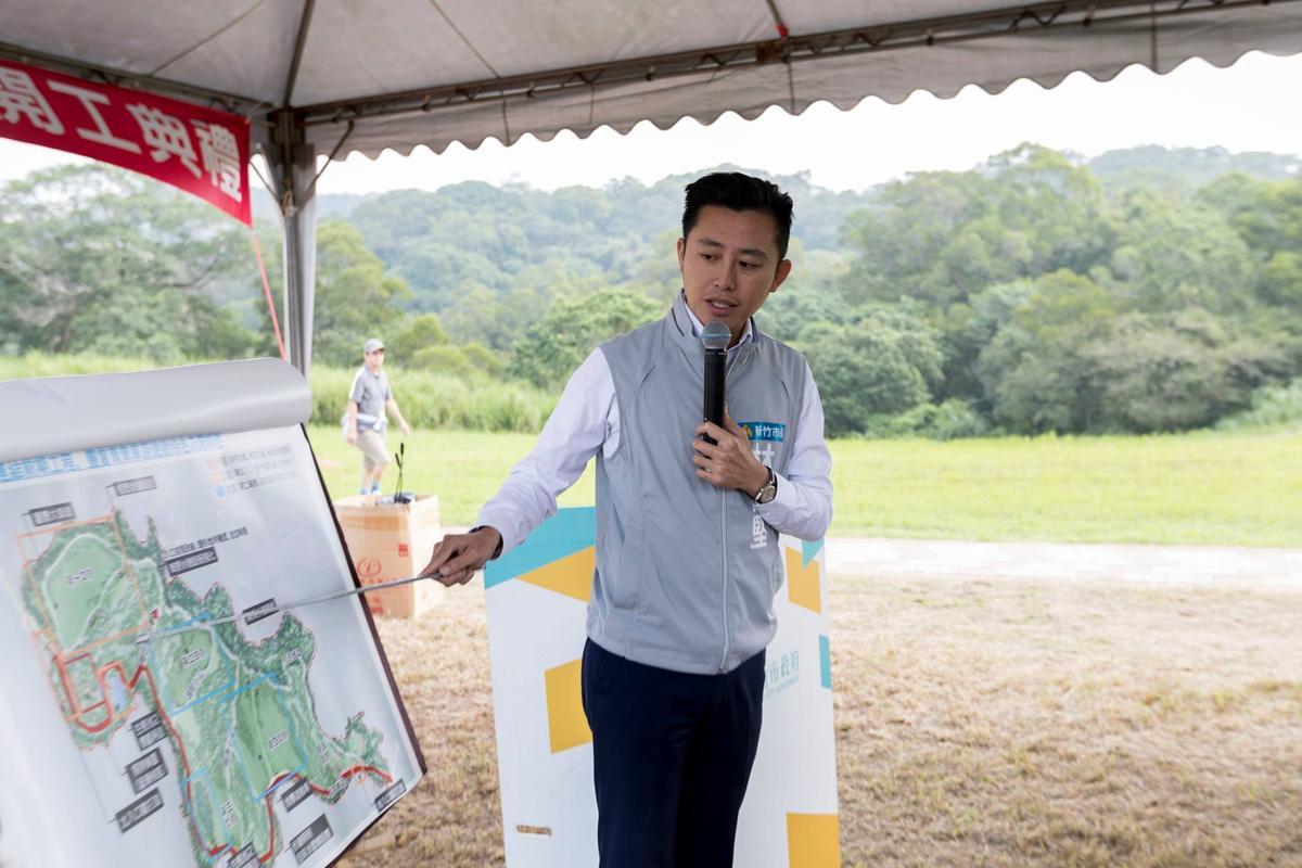 儘管新竹市長林智堅民調不差,但因在綠基本盤較小的新竹市,阿扁也點名他有連任危機。(翻攝林智堅臉書)