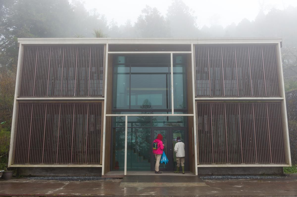 剛完成整修的「台灣杉館」,以團體房為主。