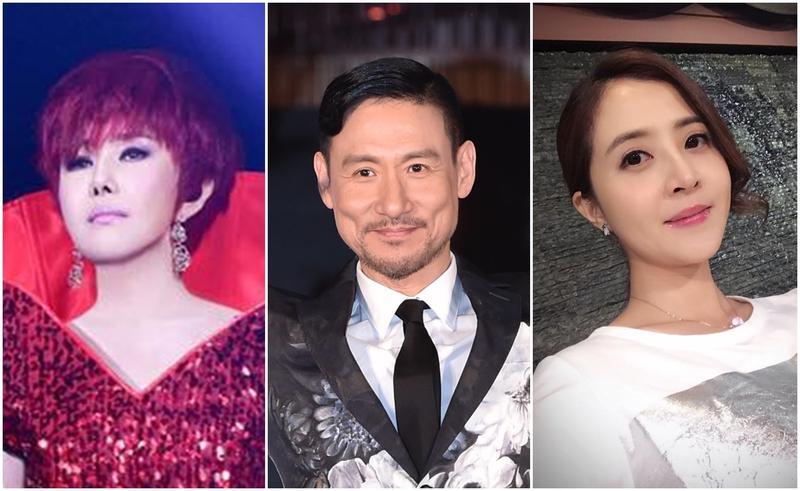 被家人拖累的藝人們,左起:江蕙、張學友、李亮瑾。