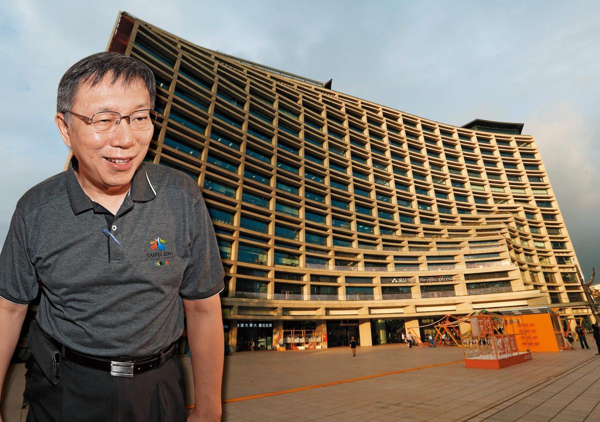 柯文哲日前獲蔡明忠之邀,在松菸與多位亞洲跨過企業負責人餐敘,趁機推銷台北。