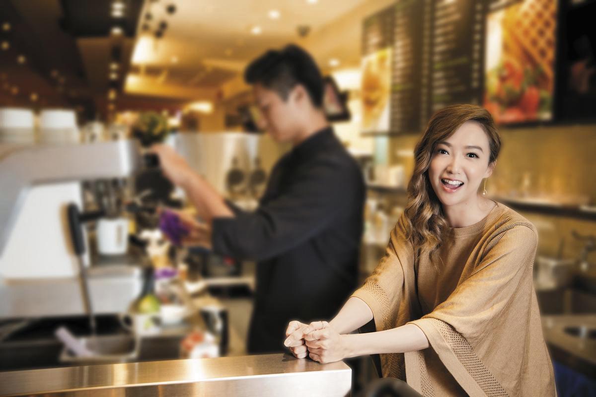 Linda廖語晴看到好友安以軒婚後幸福,也想找人嫁了定下來,想要經歷感情跟家庭。