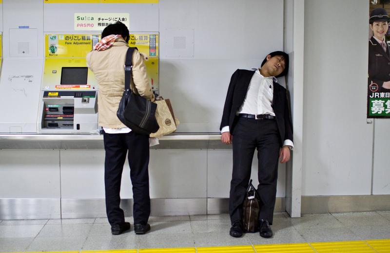 日本的上班族辭職之後,很難再找到另一份全職的工作。(東方IC)
