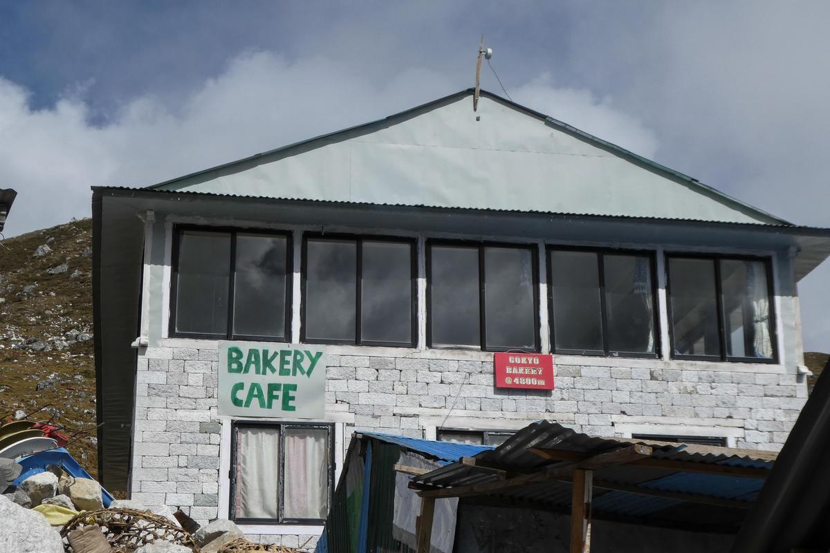 世界最高的烘焙坊Fitxory Bakery café。