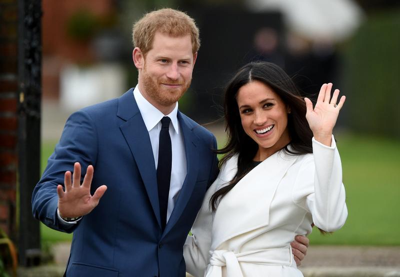 哈利王子與妻子梅根宣布退出王室活動掀起英國媒體一陣騷動。(資料畫面:東方IC)
