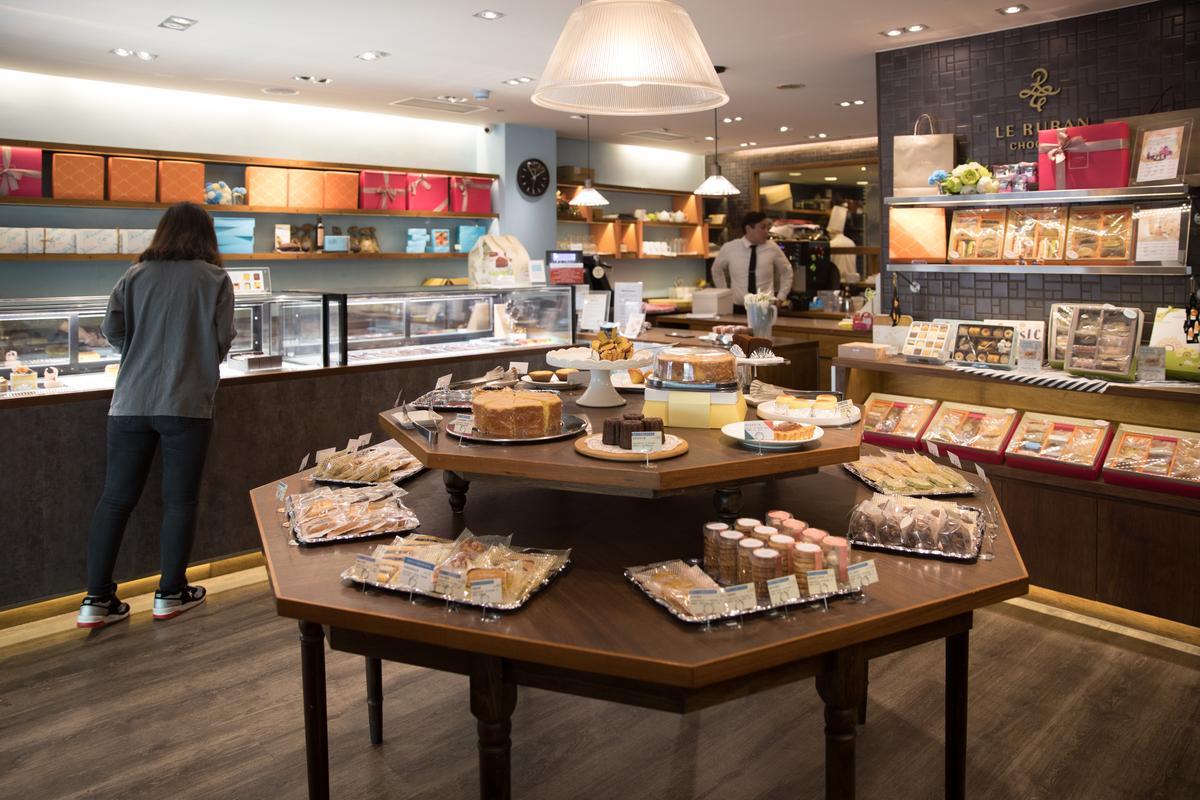 可可法朋巧克力專賣店大量使用台灣食材做甜點。