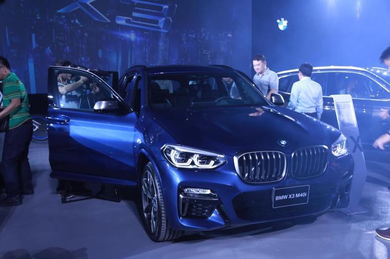 BMW趕在台北車展之前發表了大改款的X3 ,並且首次掛上「M」字號的X3 M40i也將正式襲台。